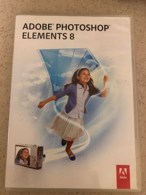 Adobe Photoshop Elements 8 for Mac for Sale in San Diego, CA