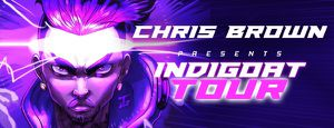 4 TICKETS TO CHRIS BROWN INDIGOAT TONIGHT HONDA CENTER for Sale in West Hollywood, CA
