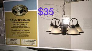 Hampton 5 light chandelier for Sale in Bakersfield, CA