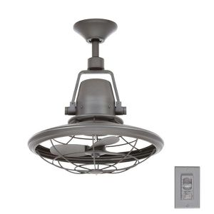 Home Decorators Collection Bentley II 18 in. Indoor/Outdoor Natural Iron Oscillating Ceiling Fan with Wall Control NEW for Sale in Fort Lauderdale, FL
