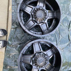 Monster Energy Edition 543B Satin Black Custom Wheels Rims for Sale in Fresno, CA