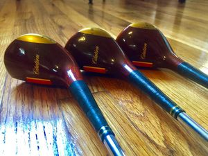 Genuine Vintage Citation Power Bolt Persimmon Wood Golf Club for Sale in Houston, TX