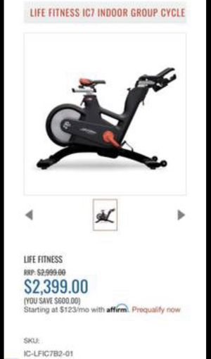 Life Fitness IC7 indoor group cycle for Sale in San Leandro, CA