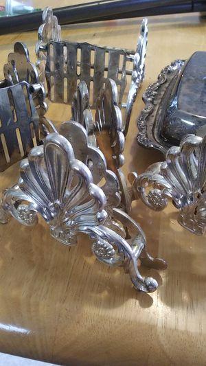 Vintage Butter Dish & Silverware Holders for Sale in Burlington, WA