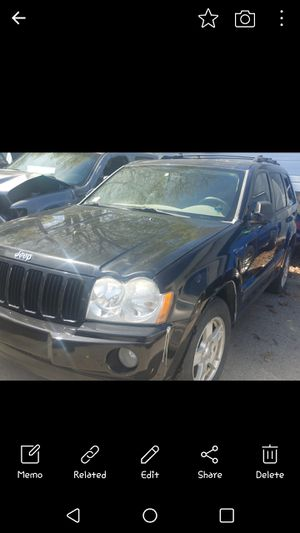 Parts only 2005 Jeep Grand Cherokee engine sold for Sale in Providence, RI