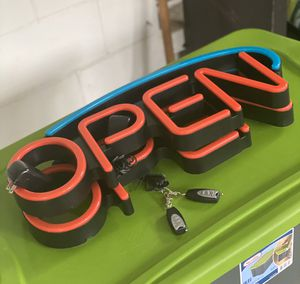Hillman OPEN signs! LED. Two remotes. Never used!!! for Sale in Tampa, FL