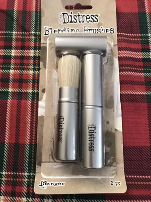 Ranger Tim Holtz Distress Blending Brushes 2/Pkg for Sale in Rancho Cucamonga, CA