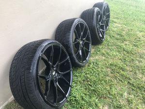 4 black Di Forza 20' rims for Sale in South Miami Heights, FL