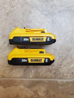 Dewalt Batteries for Sale in Renton,  WA