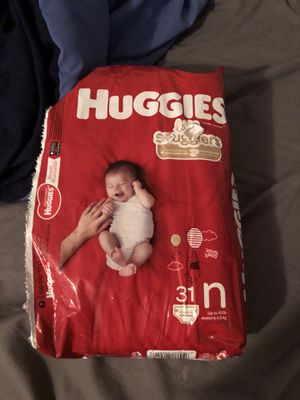 Huggies newborn Diapers for Sale in Fort Bragg, NC