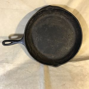 "Vintage Cast Iron 12"" #10 Skillet Made in USA for Sale in Seattle, WA"