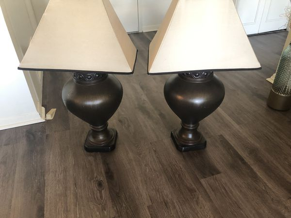 2 lamps for $30