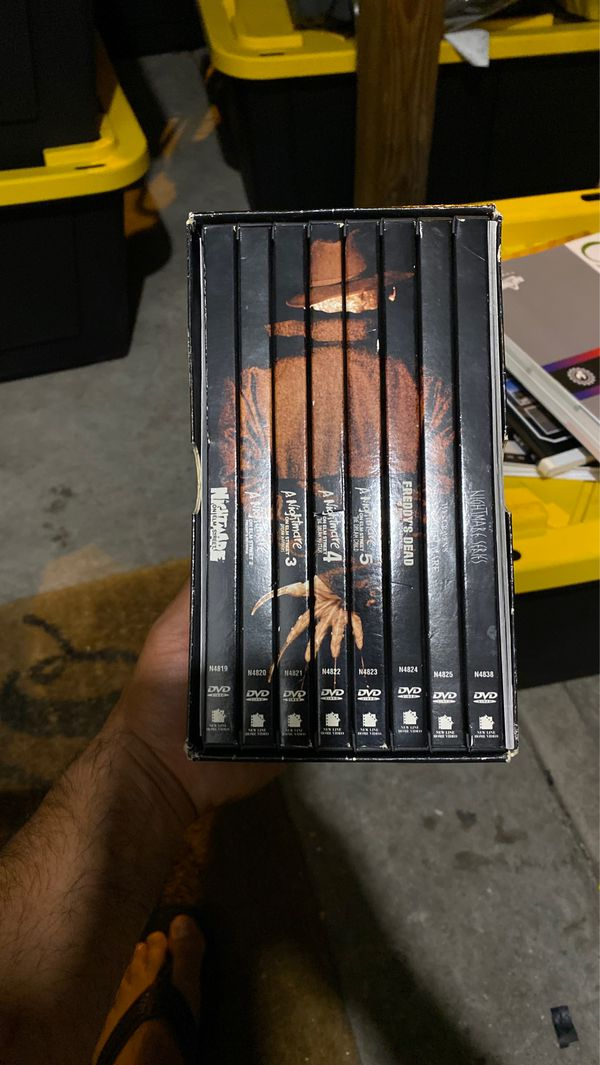 The nightmare on elm street Dvd collection