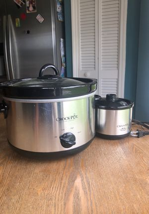 Crock Pot (Large and Small Fondue Pot) for Sale in Orlando, FL
