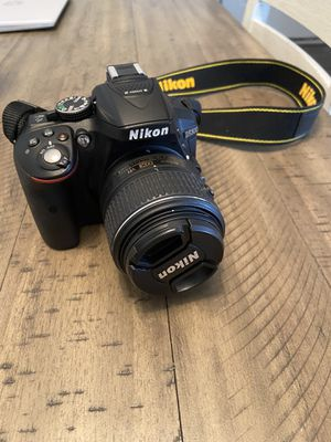 Nikon D5300 and extra accessories for Sale in Jacksonville, FL