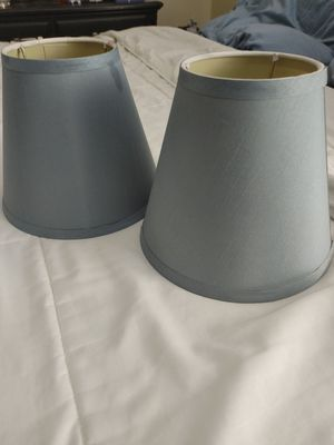 Small Light Blue Lamp Shades for Sale in Worcester, MA