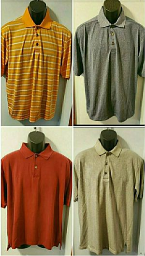 Pebble Beach & Ashworth 4 Golf Shirts for Sale in Middletown, MD