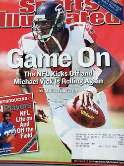 September 20, 2004 Michael Vick Atlanta Falcons Sports Illustrated for Sale in Chambersburg,  PA