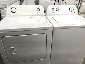 Amana Matching Washer and Dryer Set that CAN be delivered and hooked up for Sale in Clarksville, TN