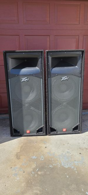 "Pevey duel 15"" spekers pair passsive for Sale in Richmond, CA"