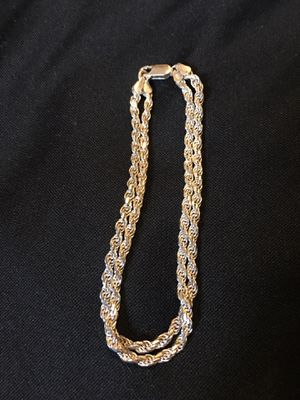 Silver Anklet for Sale in Compton, CA