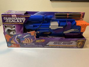MARVEL Guardians of the Galaxy Rocket Raccoon Blaster Brand New Nerf Gun for Sale in San Dimas, CA