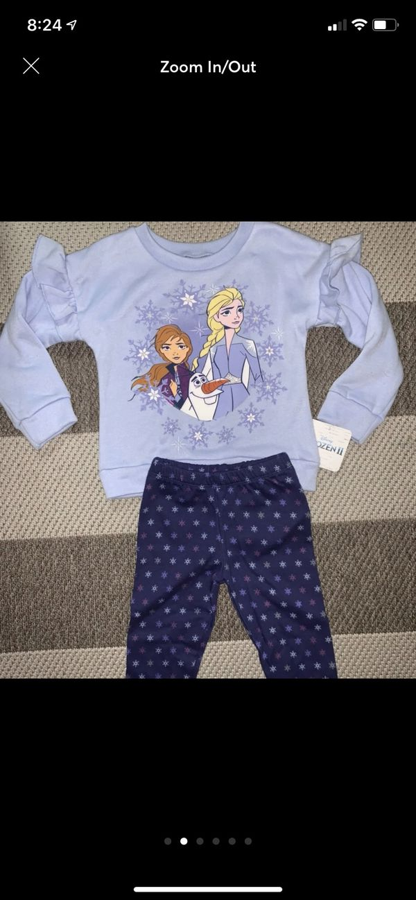 Frozen and Minnie Mouse toddler girls