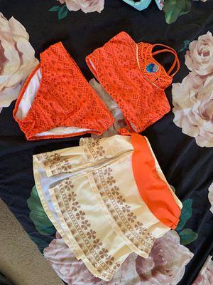 Disney store Moana swim suit and skirt for Sale in Litchfield Park, AZ