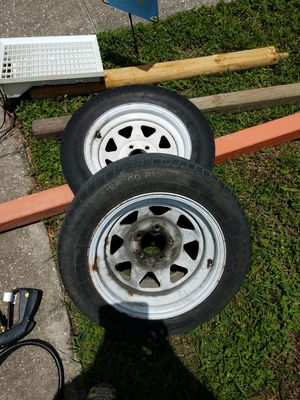 "Tires and Rims 2 set 15"" Rims for Sale in New Port Richey, FL"
