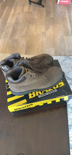 Brazos Steel Toe Work Boots for Sale in Saint Charles, MO