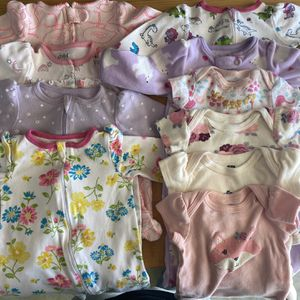 Baby girl clothes size 0-3 months lot for Sale in San Diego, CA