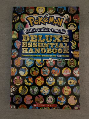 Pokémon deluxe handbook for Sale in Ellicott City, MD