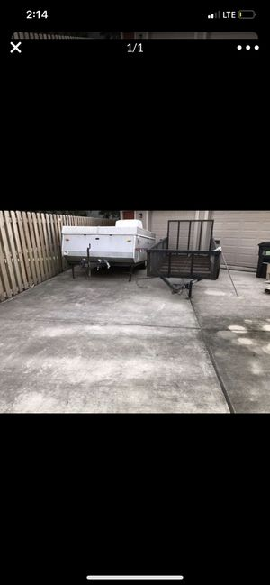 1998 jayco pop up camper with a/c and refrigerator,largest model at that time for Sale in San Leon, TX