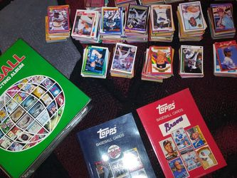 WHOLE LOT BASEBALL CARDS+2 TOPPS MAGAZINES. (OVER 1,000 + CARDS 1980's EDITION..$120 TAKE ALL for Sale in Stockton,  CA