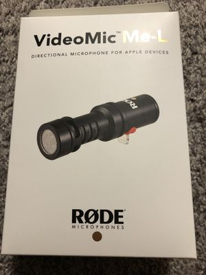 RODE microphones videomic me-L for Sale in Dallas, TX