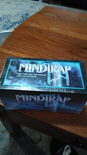 Mindtrap puzzle mystery card game factory sealed for Sale in Mesa, AZ