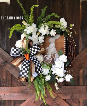 Easter decorations, Easter wreath, farmhouse Easter for Sale in Sugar Land, TX