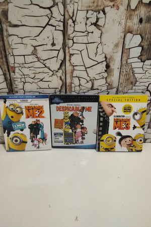 Despicable Me Blue Ray Bundle for Sale in Denver, CO