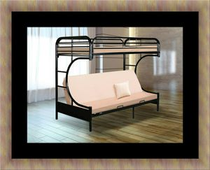 Twin Futon bunk bed frame for Sale in Adelphi, MD