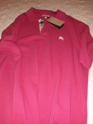 Original Burberry Men's Shirt Large for Sale in Anaheim, CA
