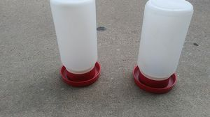 Water bottles for poultry for Sale in McKinney, TX