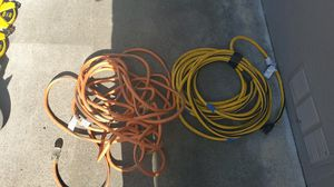 2 EXTENSION CORDS for Sale in Seaside, CA