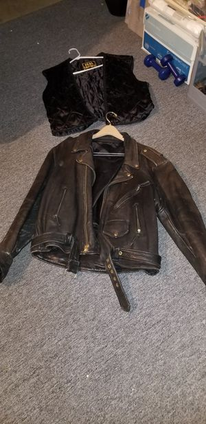 Bikers Leather jacket for Sale in Racine, WI