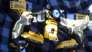 Dewalt Extreme Sub-Compact 12 v tool set for Sale in Modesto, CA