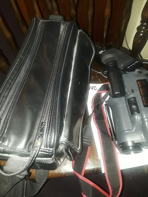 Vintage JVC Camcorder, Accessories/ Leather Bag And Manual for Sale in Columbus, OH