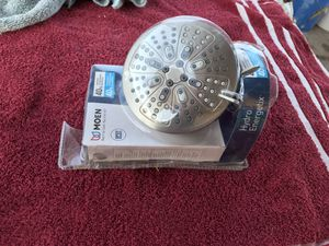 MOEN HydroEnergetix 8-Spray 5 in. Single Wall Mount Fixed Adjustable Shower Head in Spot Resist Brushed Nickel for Sale in Phoenix, AZ