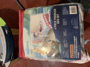 Moana Toddler Bed Set for Sale in Linden, NJ