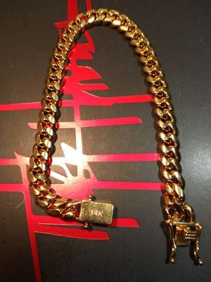 14k gold filled bracelet for Sale in Houston, TX