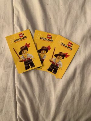 Legoland tickets for Sale in Ontario, CA