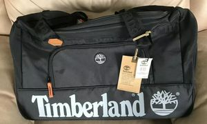 "Timberland 22"" Duffle Bag Jet Black Travel Gym Carry Bag for Sale in Pompano Beach, FL"